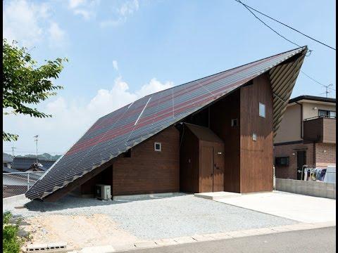 Dise o de casa moderna con techo aerodin mico youtube for Techos de casas modernas