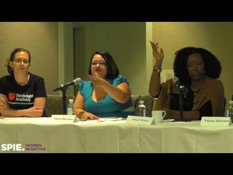Women in Tech: Evidence, data, and trends - an SPIE Women in Optics panel discussion