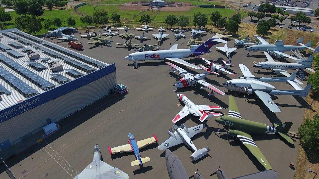 Reopening California: Aerospace Museum of California welcomes visitors 4/17/21