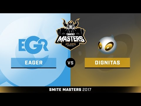 SMITE Masters Spring 2017 Semifinals Team Eager vs. Team Dignitas Game 3
