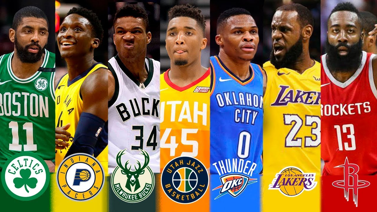 Best Players In Nba 2019 NBA 2018   2019 Best Player Of Every Team   YouTube