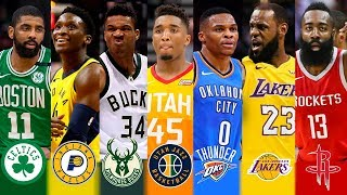 Nba 2018   2019 Best Player Of Every Team