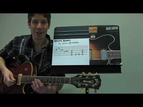 "Easy Guitar PLAY-ALONG Lesson : ""Boom Boom"" by John Lee Hooker !"