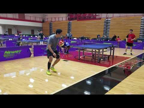Yichi Zhang (2564) vs David Cabrera (2146) - Open Singles Quarter Final