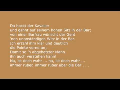 Die Barfrau - Ursula Herking