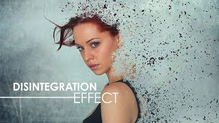 Disintegration Effect - Photoshop Tutorial