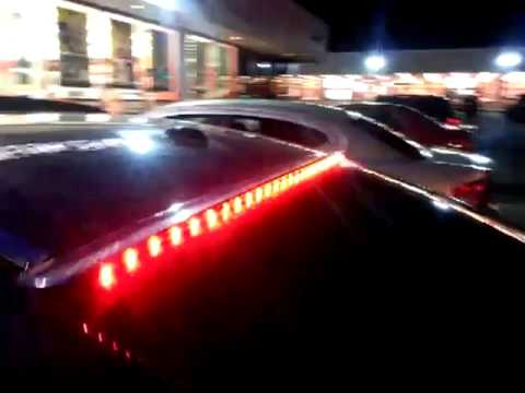 Qik 2011 Honda Accord Coupe M3 Roof Spoiler Break Lights