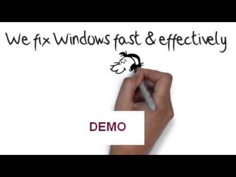 give you a WINDOW SERVICES Whiteboard Video