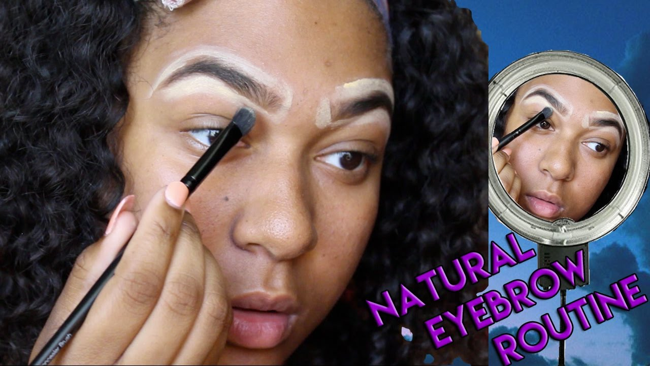 Step By Step Perfect Natural Eyebrows La Girl Pro Concealer