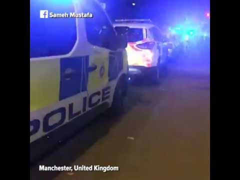 Explosion at Ariana Grande concert at Manchester Arena