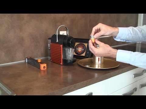 MSPRESSO video Nespresso capsule demo for espresso or ristretto