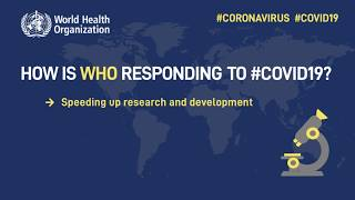 How is WHO responding to COVID-19