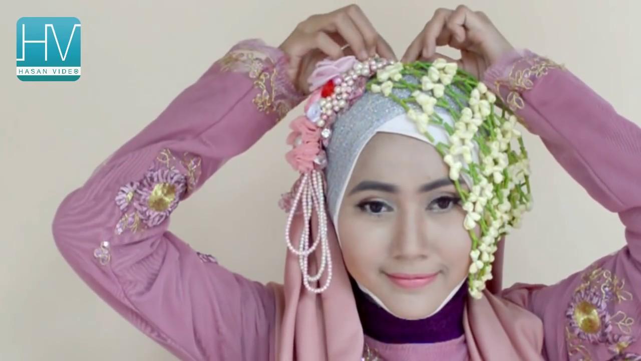 Hijab Pengantin Simple Bisa Untuk Yang Berkacamata 71 YouTube