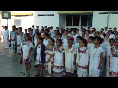 Himno en Maya en Hanal Pixan Yucatan
