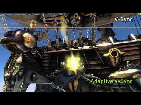 NVIDIA Adaptive Vertical Sync Video