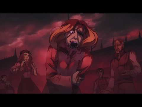 Castlevania Animated Series - Night Creature Attack Scene