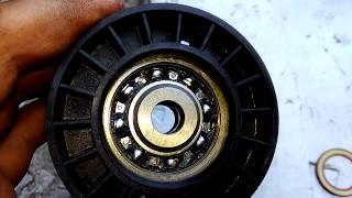 Замена ролика - натяжителя и ремня (генератора и помпы) на Газель змз 406