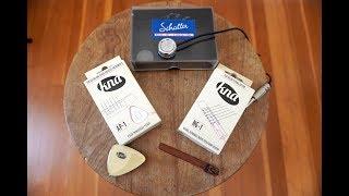 Classical Guitar Piezo Pickups: Kremona KNA NG-1, AP-1, Schaller Oyster