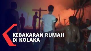 Gambar cover Kebakaran Rumah di Kolaka, Api Diduga Berasal dari Hubungan Pendek Arus Listrik
