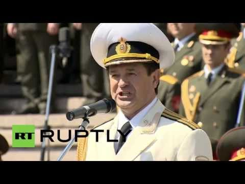 Russia: First forces choir contest since Soviet era