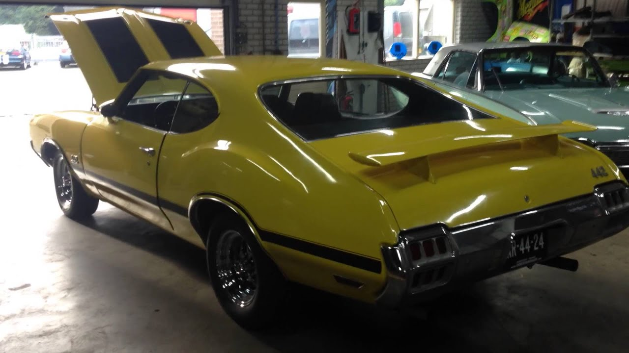 Oldsmobile Cutlass 455 V8 MUSCLE CAR! For Sale in Europe - YouTube