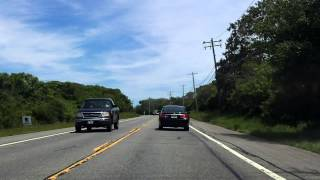 Montauk Highway (NY 27 from Montauk to Montauk Point) eastbound