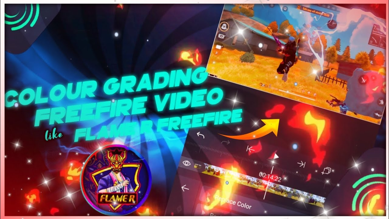 Colour Grade Freefire Video Like FlameR Freefire🇧🇩|How To Edit Like FlameR Freefire in Android