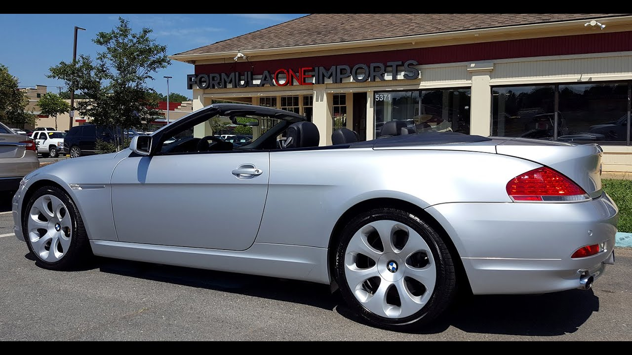 2007 BMW 650i Convertible  For Sale  Formula One Imports