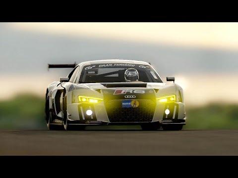 Gran Turismo Sport - AUDI R8 LMS Beta Gameplay (NO HUD) Dragon Trail: Seaside @ 1440p (60ᶠᵖˢ) HD ✔
