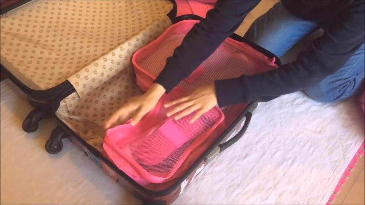 4eb9c86ef6 アレンジケース トラベル 6点セット スーツケース 整理整頓 小物入れ 旅行 トラベルポーチ 旅行用品入れ アレンジケース 衣類 海外旅行 便利グッズ  トラベル用品
