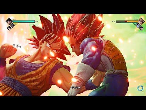 JUMP FORCE - Goku, Sasuke, Toguro Vs Vegeta, Frieza, Seiya Epic Battle Gameplay (BETA) PS4 Pro