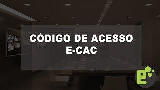 👉 E-CAC RECEITA FEDERAL   Como Gerar Código de Acesso