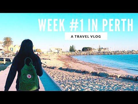 TRAVEL VIDEO - WEEK #1 Perth, Australia VLOG