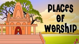 God Is One - Learn Places Of Worship - Kids Education