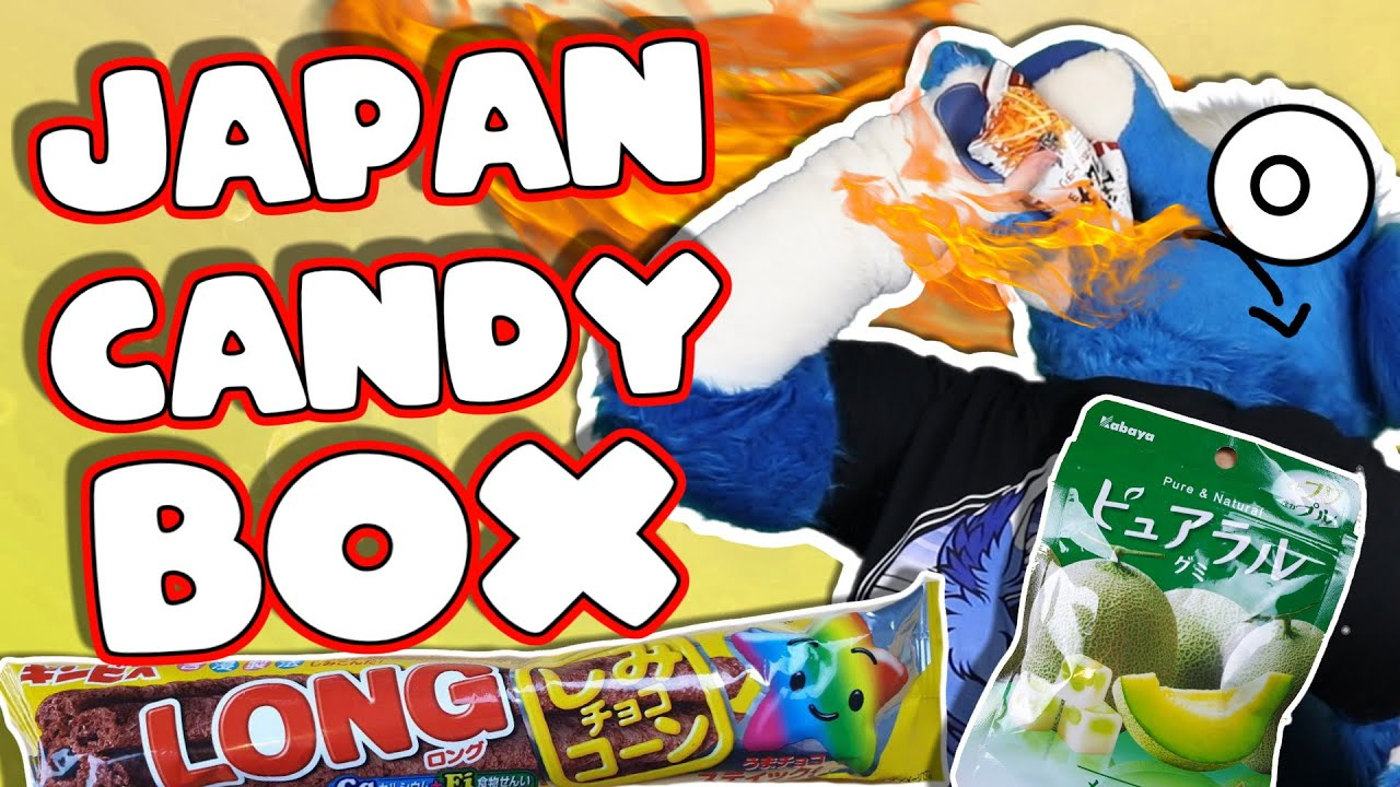 Japan Candy Box!! Tasty treats and SPICE 😵🔥