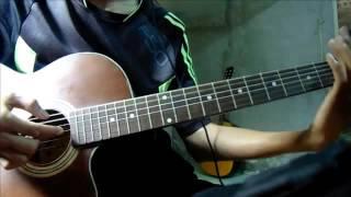 Đoạn cuối con đường guitar đệm hát version Nguyen Cuong!