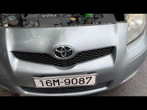 Thay ắc quy xe toyota Yaris tại nhà ở Hải Phòng- BH 15 tháng