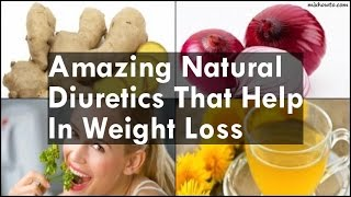 Natural Diuretics That Help In Weight Loss
