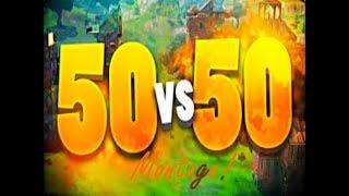 50 VS 50 MONTAGE!!