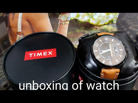 Unboxing Timex New Watch (Teach World)