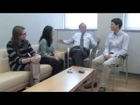 Student Public Relations Committee Interview with Dean Stohler