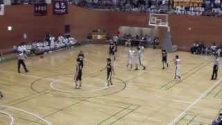 2013年度 国学院久我山vs早稲田実業 早実 2q2 春関東高校バスケ 3位決定戦