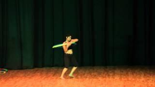 BANJARA SCHOOL OF DANCE- HULA HOOP WITH ESHNA KUTTY
