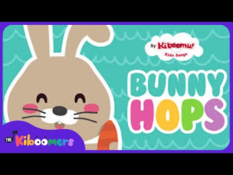 The Way The Bunny Hops | Easter Bunny Song | Easter Songs for Kids | The Kiboomers