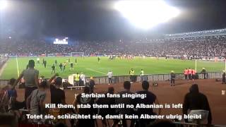 Serbia vs Albania - UEFA decision: Say YES to Racism
