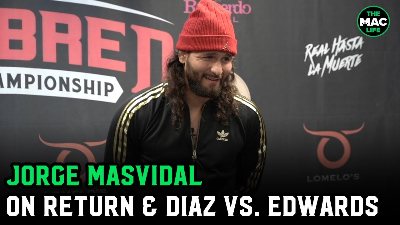 """Jorge Masvidal wants October or November bout with top 5 opponent; """"Leon Edwards is not a fighter"""""""