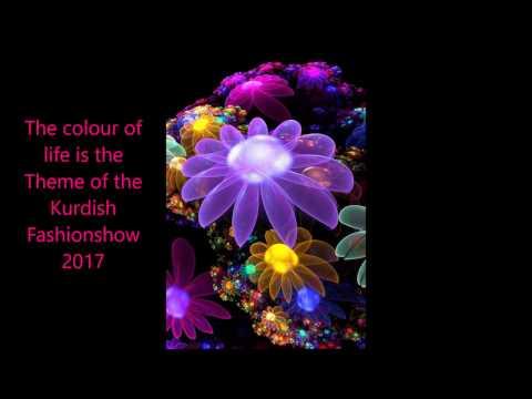 Jilubergikurdi  The colour of life is the theme of the  kurdish Fashion show 2017