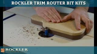 rockler trim router bit kits