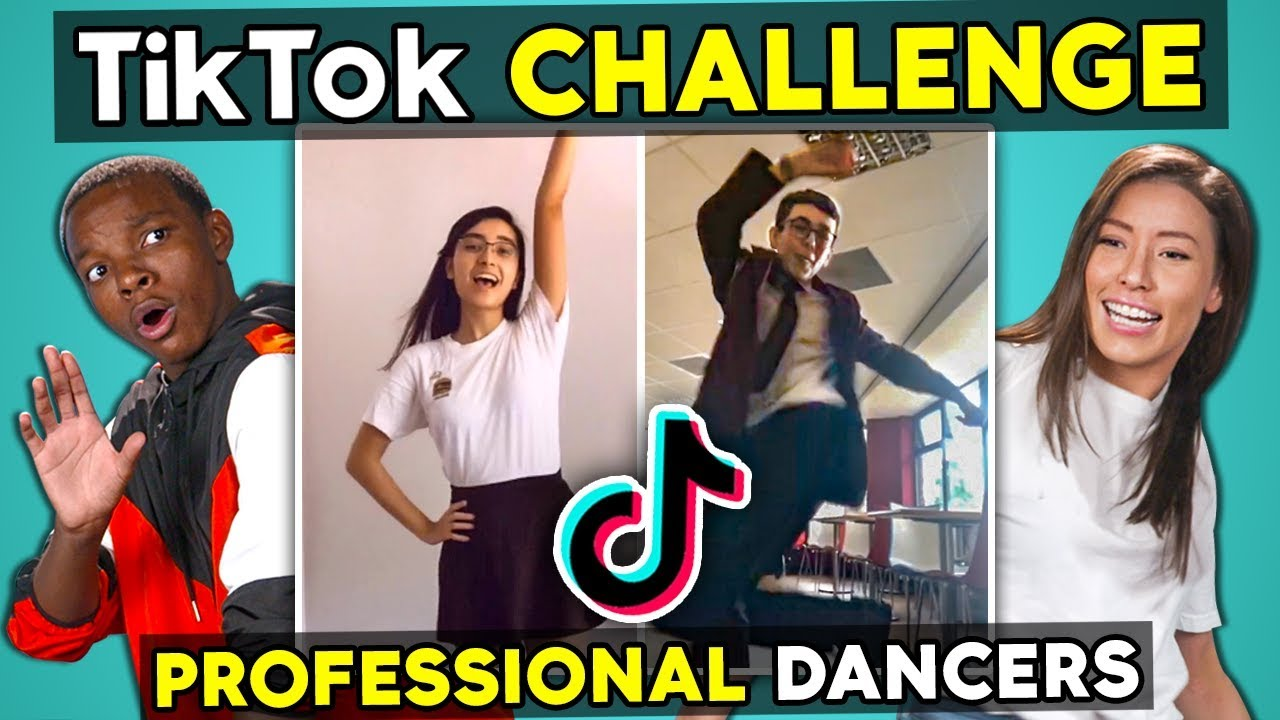 Professional Dancers React To And Try Tik Tok Dances