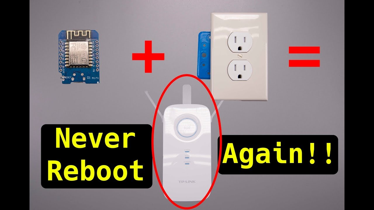 Router Rebooter Eliminates Hassles | Hackaday